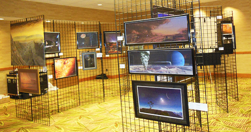 IAAA Artshow at the AAS Planetary Science