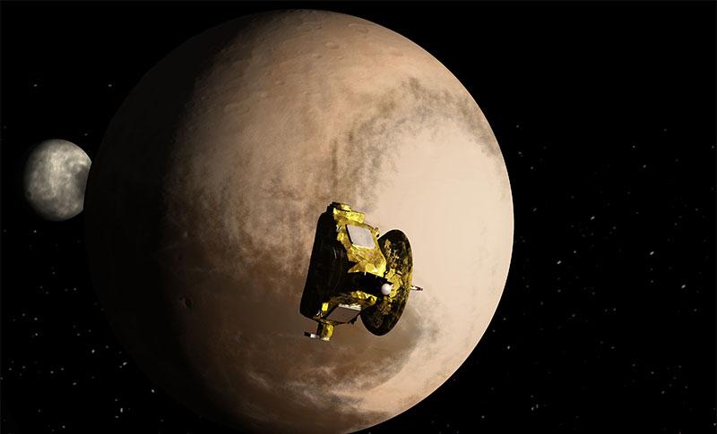 close to Pluto