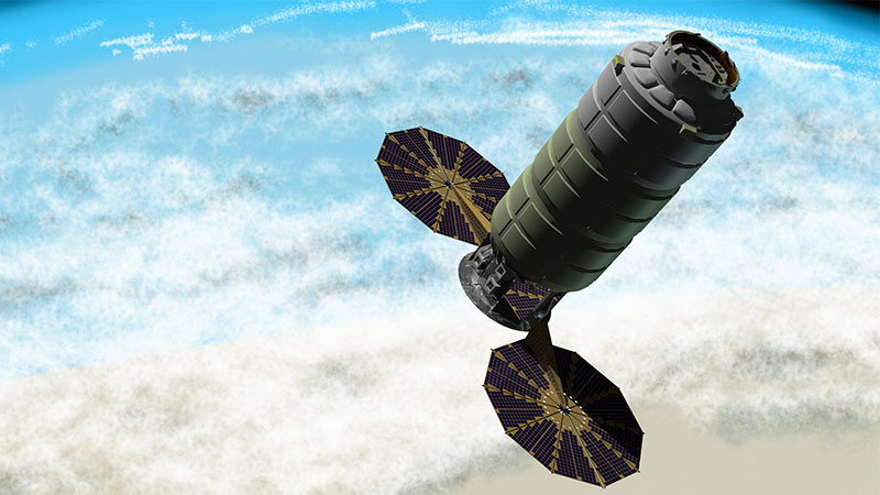 Enhanced Cygnus Spacecraft by Orbital ATK