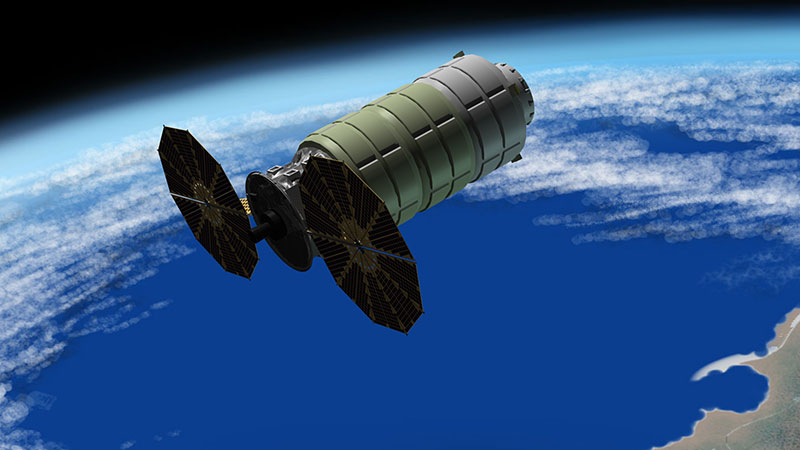 cygnus-enhanced cargo spacecraft